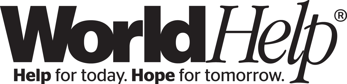 World Help logo | sponsor a child today!