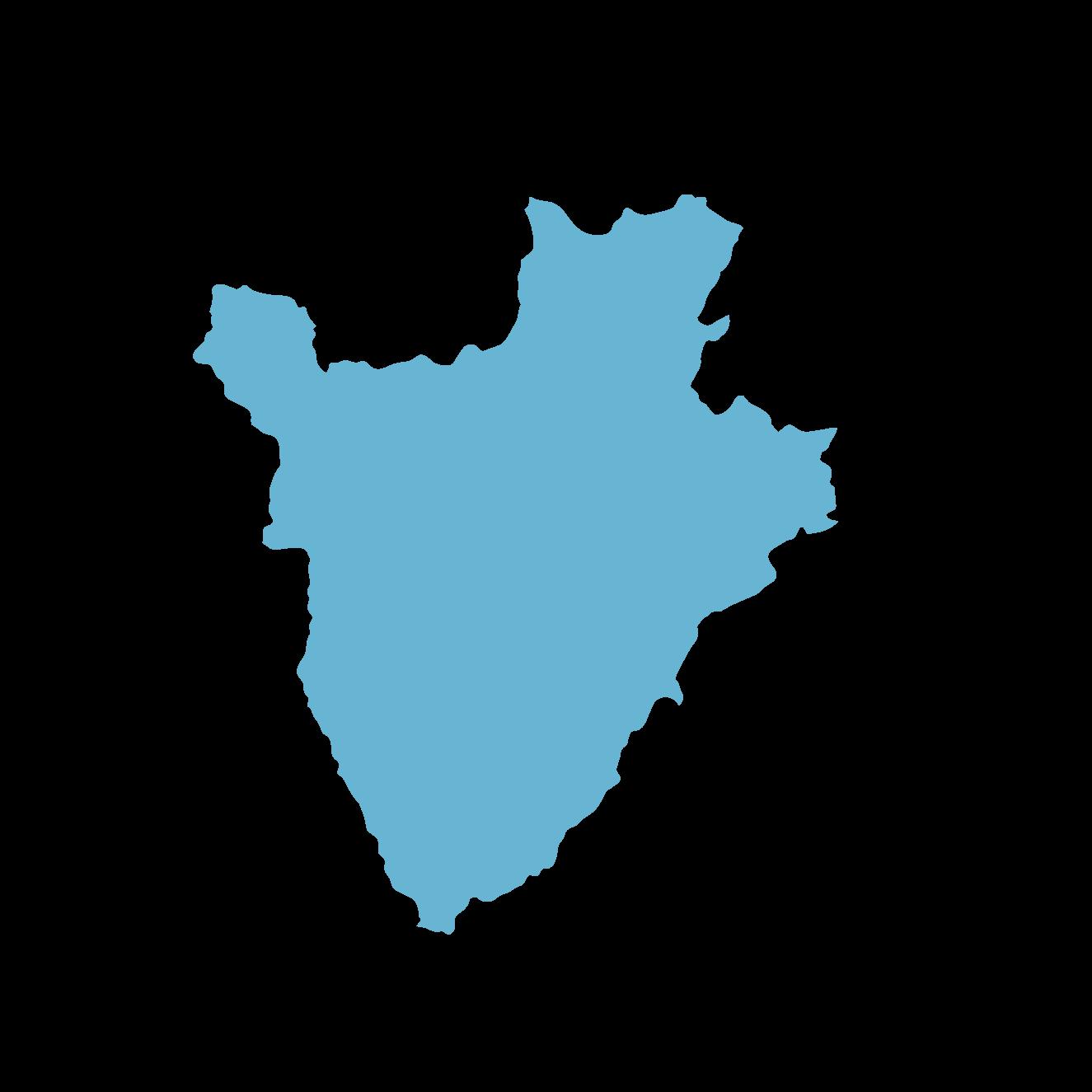 Icon illustration of Burundi