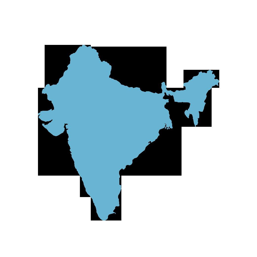 Icon illustration of India