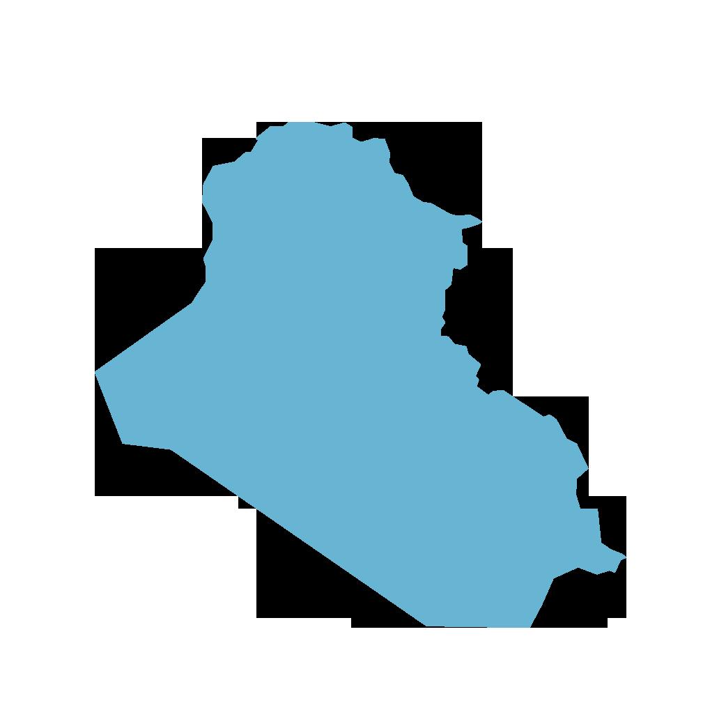 Icon illustration of Iraq