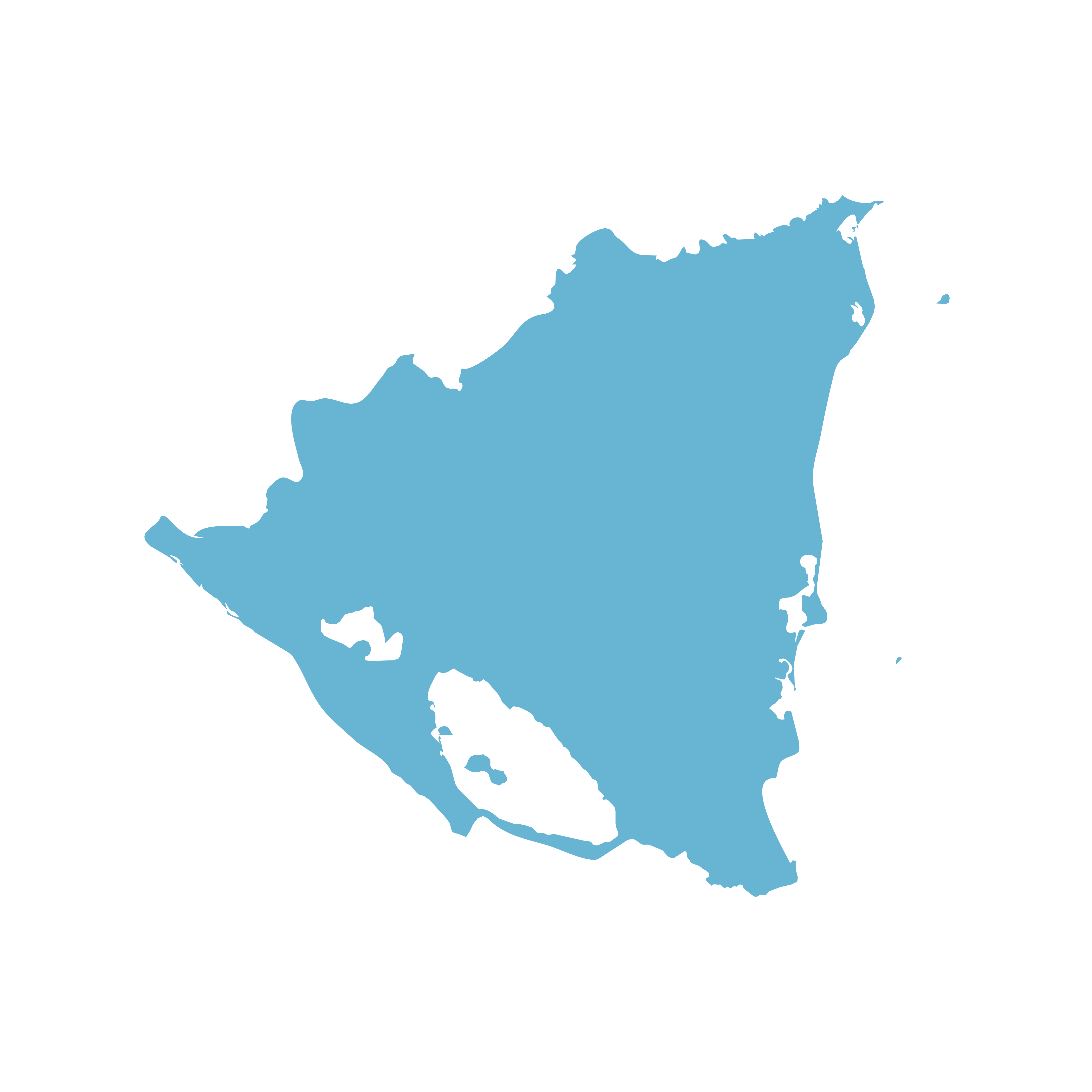 Icon illustration of Nicaragua