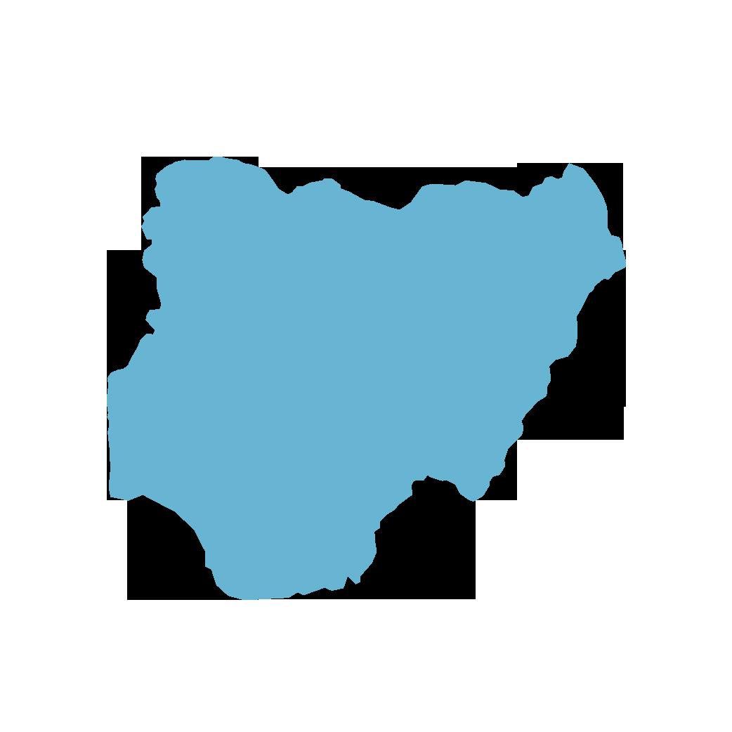 Icon illustration of Nigeria