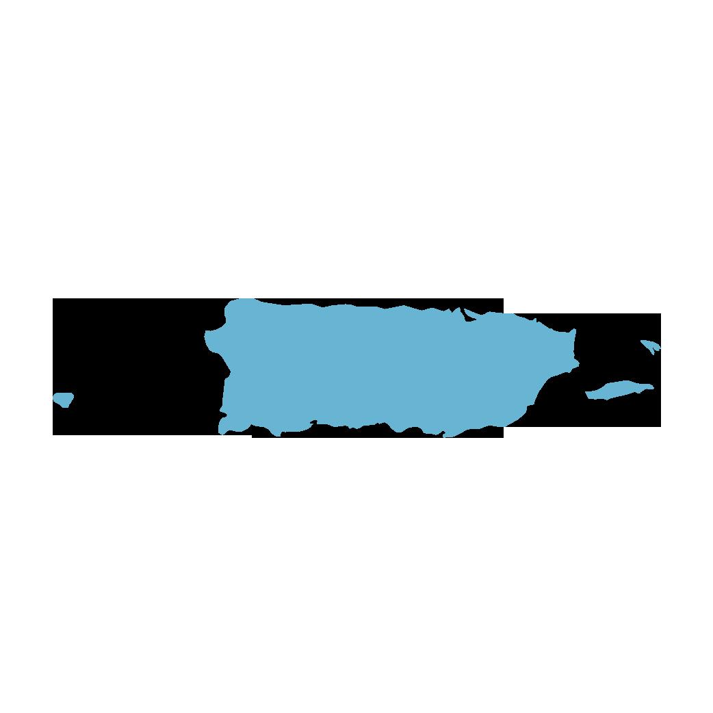Icon illustration of Puerto Rico