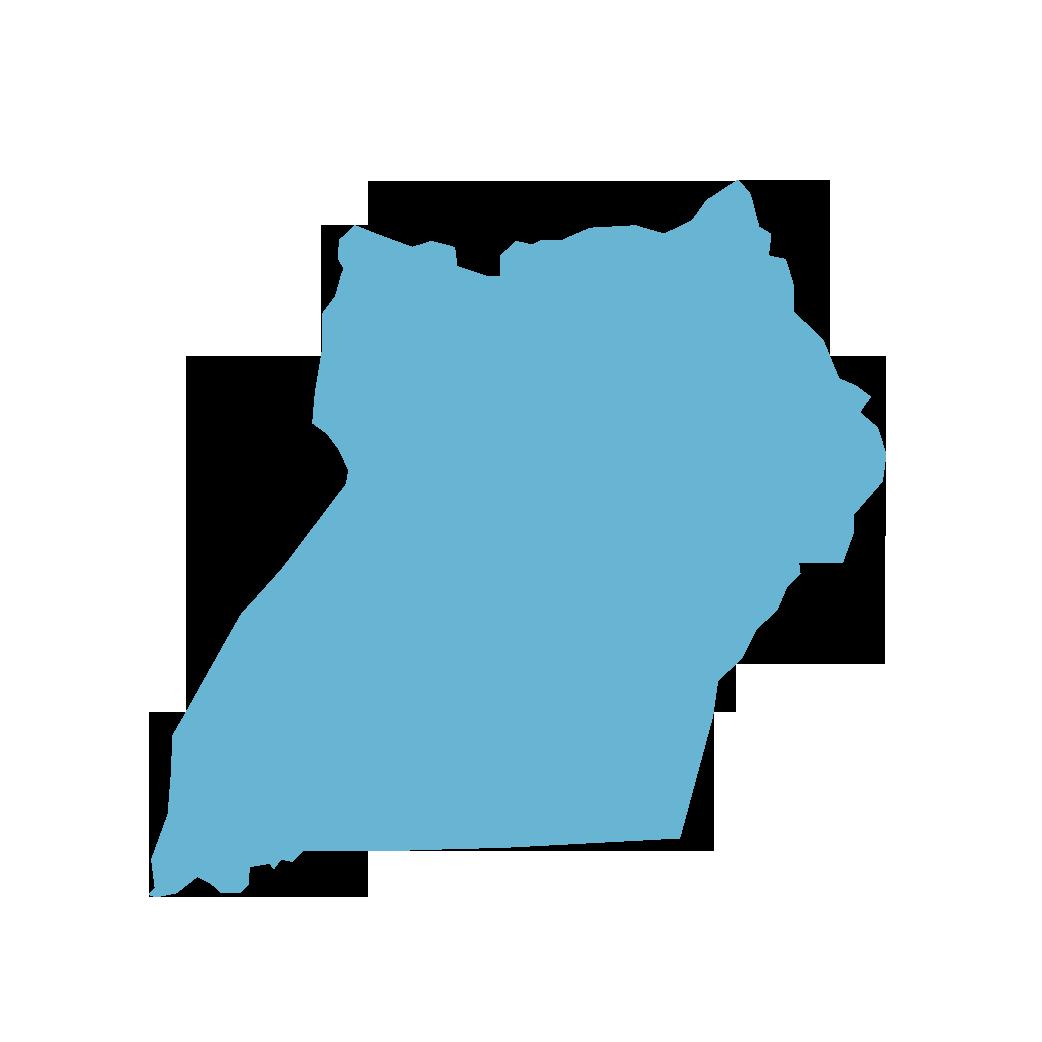 Icon illustration of Uganda