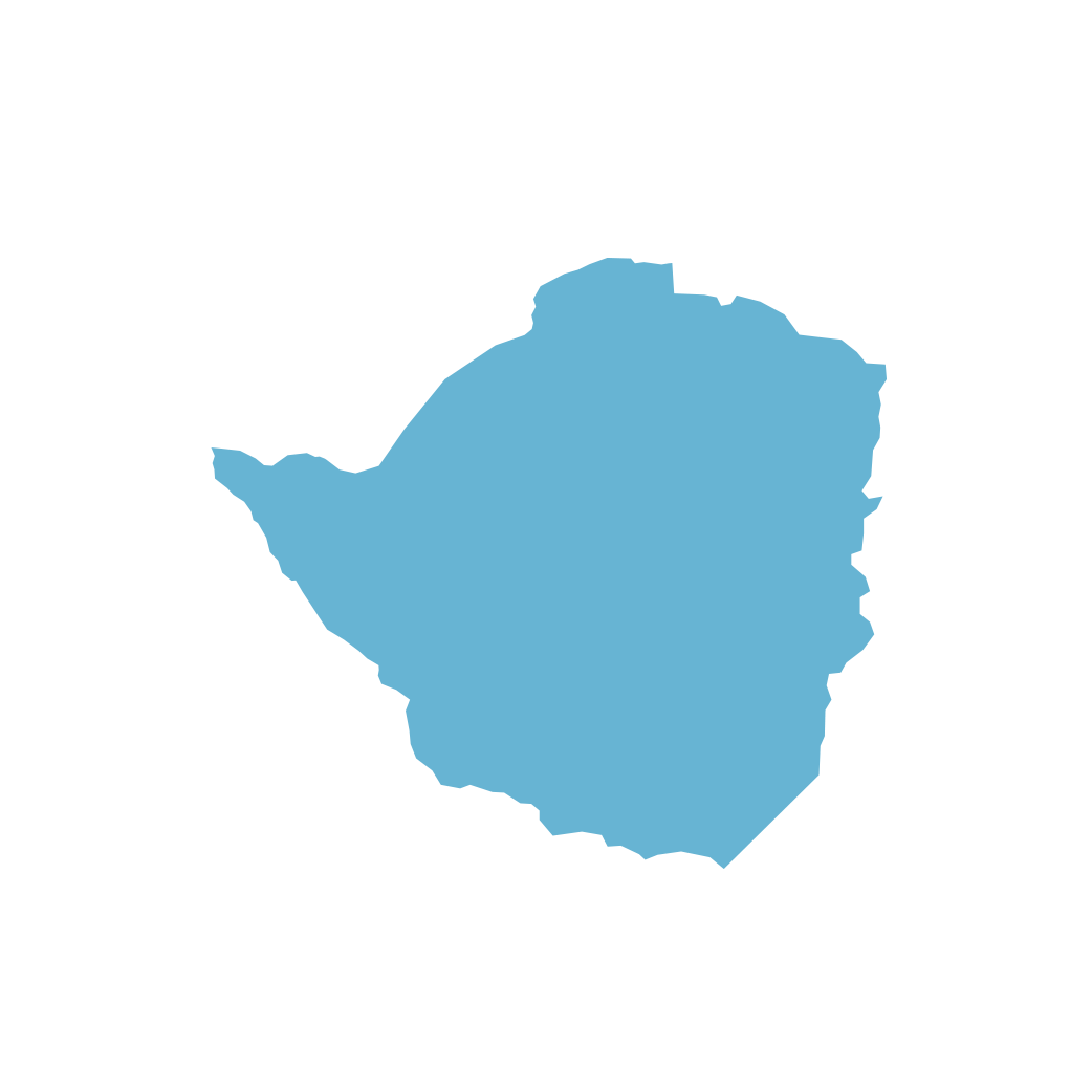 Icon illustration of Zimbabwe