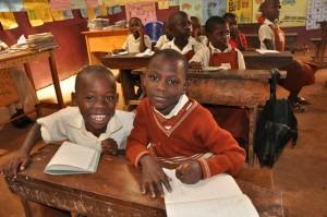 Two Boys at the Good Samaritan School
