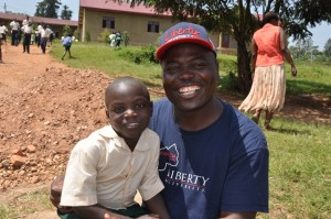 World Help RD to Africa Cyrus Mad-Bondo in Rwanda
