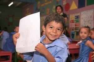 A young boy in our Honduras child sponsorship program