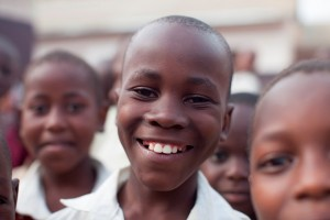 A child in our child sponsorship program - AIDS 2012