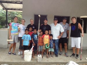 Painting a new home in causelife village