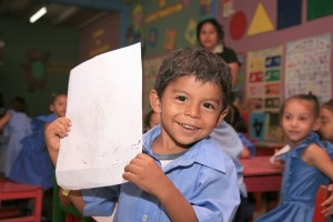Back to school in Honduras