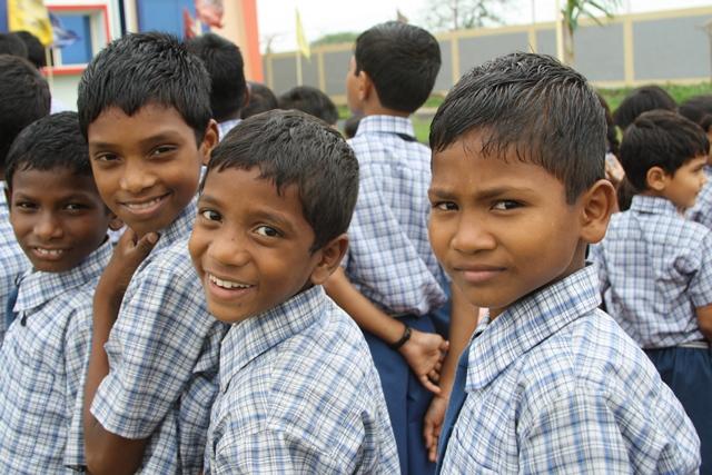 Sponsored children in India