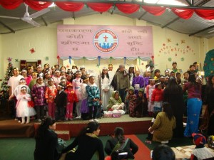 Happy Children's Home in Nepal - Christmas Program