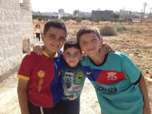 Syrian Refugees - Young Boys