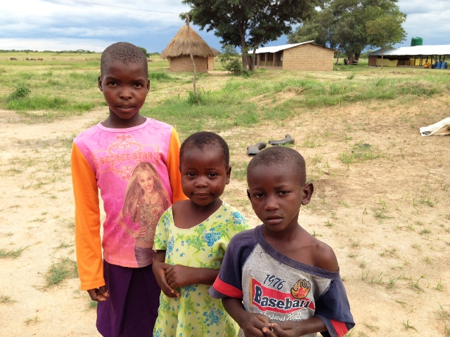 Children in Zimbabwe