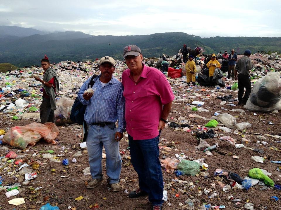 Trash dump Honduras