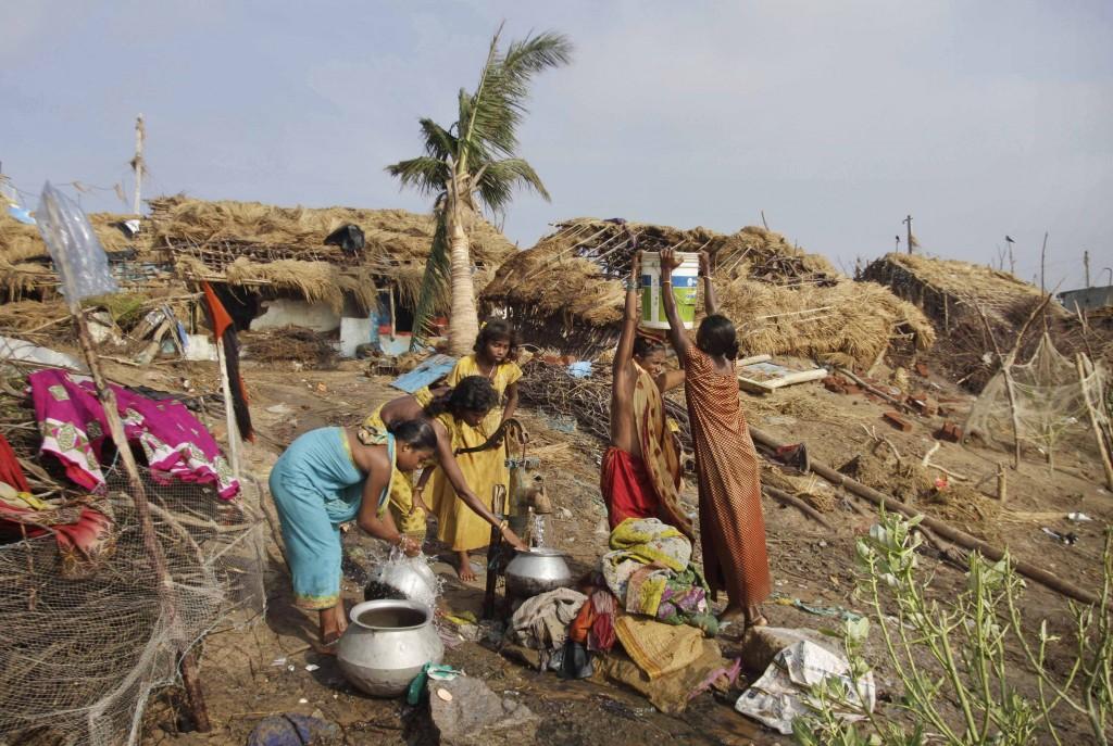 India Cyclone Phailin aid