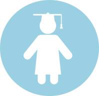 Child Graduate Icon