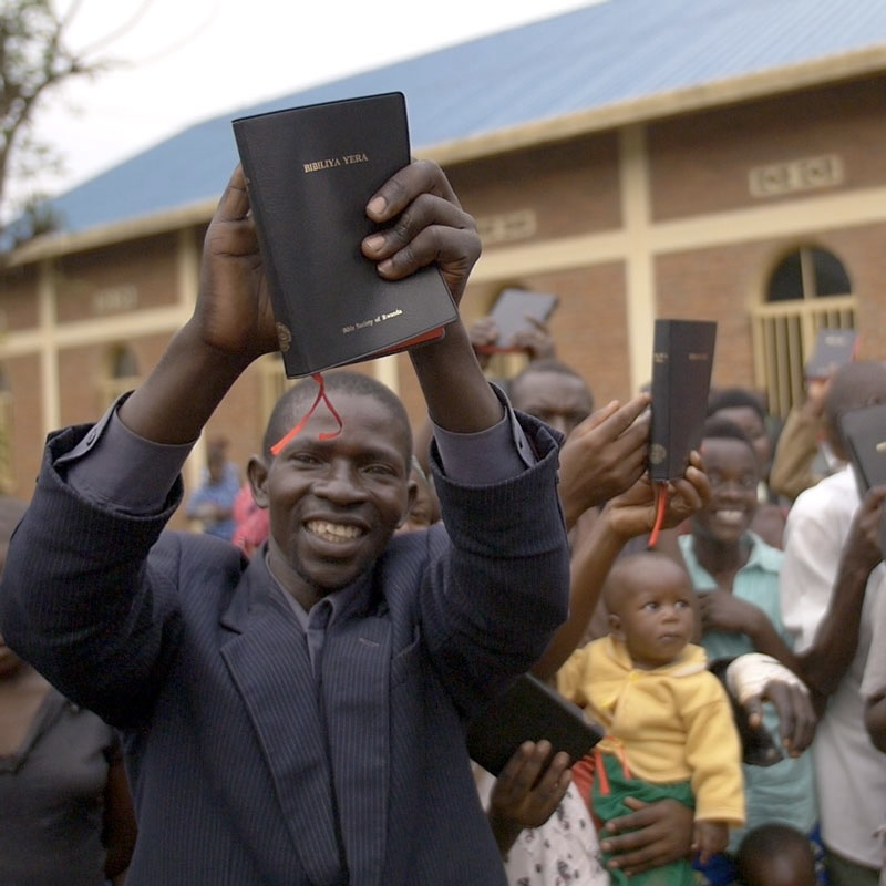 Provide a Bible to Someone Who Has Never Owned One