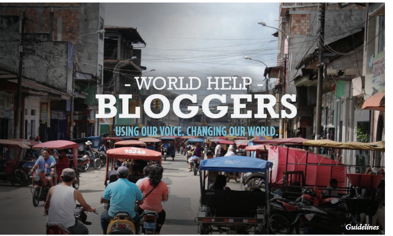 World Help Blogger Guidelines