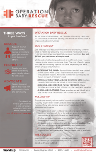 Operation Baby Rescue Fact Sheet