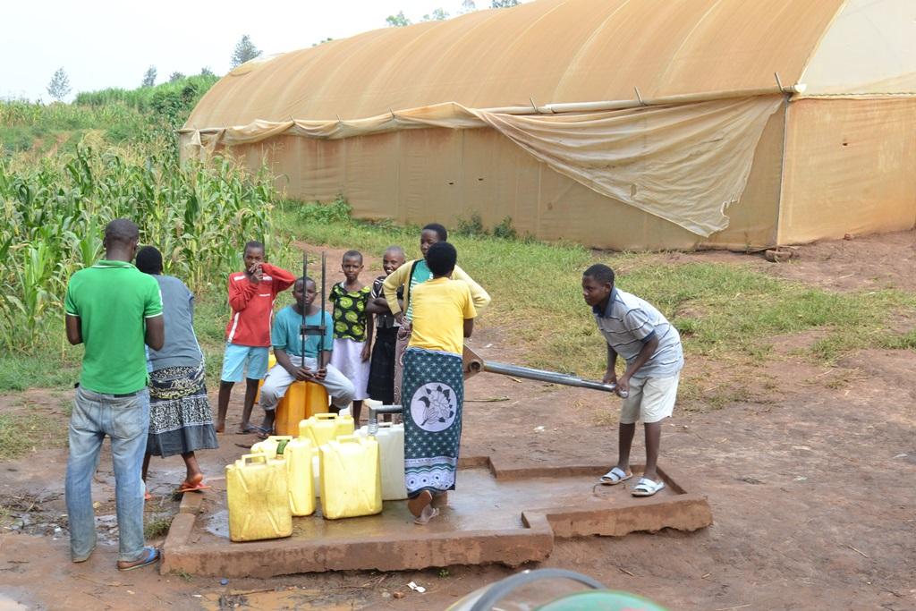 Clean water in Rwanda