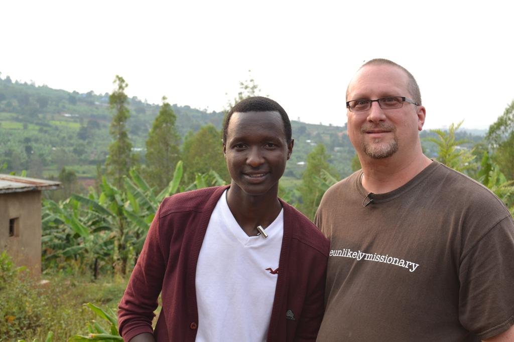 Dan King in Rwanda
