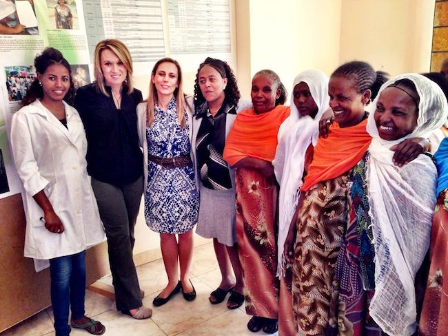 Noel Yeatts and Healing Hands of Joy Ethiopia Mothers