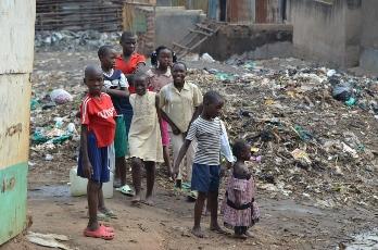 World Help Africa trip - Uganda slums -