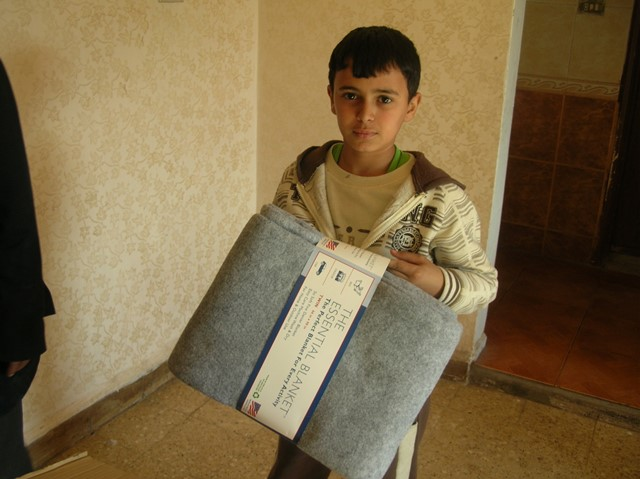 Blankets for Refugees - World Help