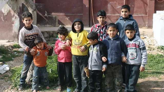 Syrian refugee children - World Help