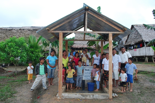 Peru water project - causelife