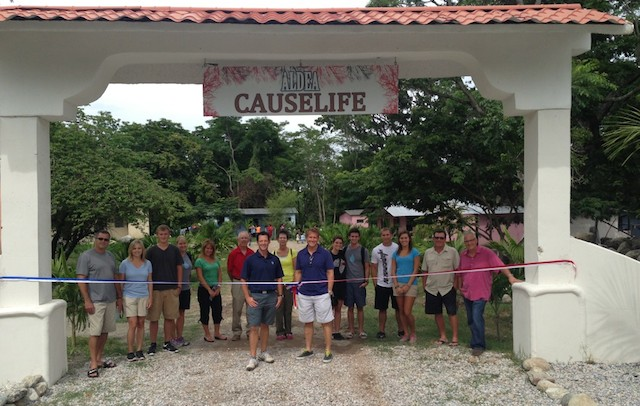 Dedicating causelife village