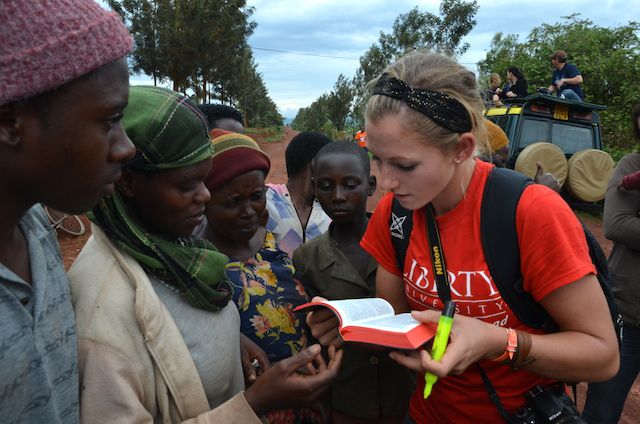 Rwanda Liberty University World Help Student Trip