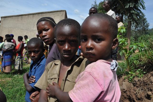 Rwandan genocide - children of Rwanda