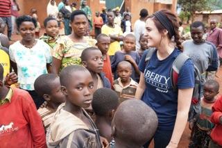 Taylor in Rwanda