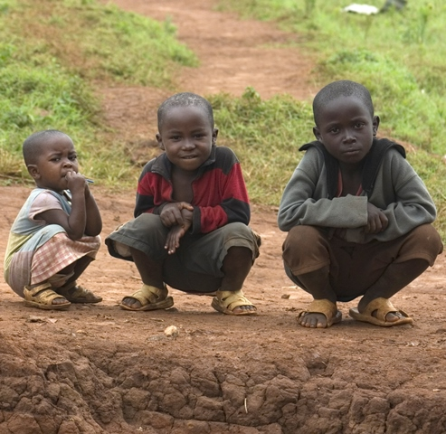 Rwandan children - World Help