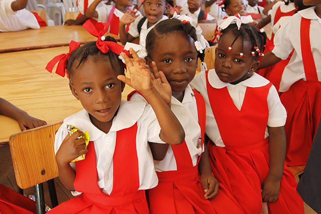 Sponsor a child in Haiti - World Help