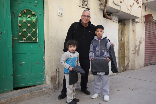Vernon Brewer in Jordan - World Help