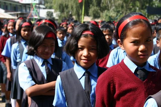 Sponsored children in India - World Help