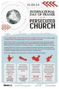 International Day of Prayer Persecuted Church Bulletin 2014
