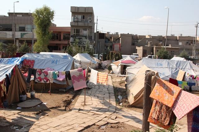 Iraq tent city