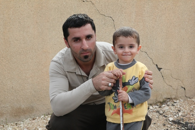 Iraqi father and son - World Help