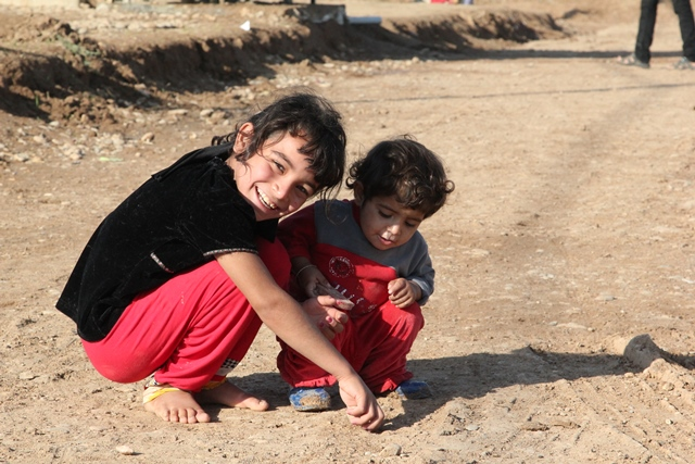 Refugee children in Iraq - World Help