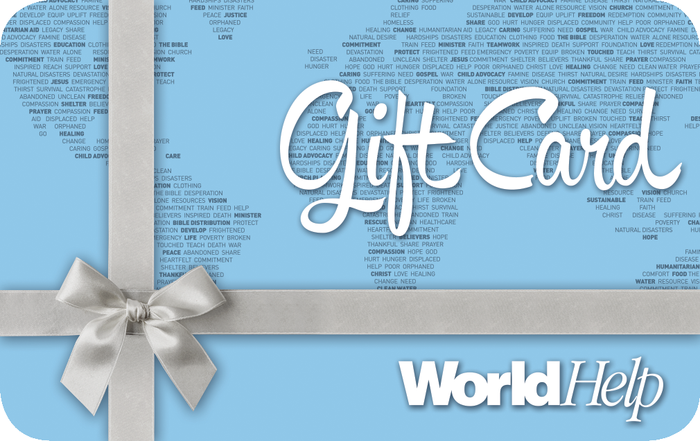 Charity Gift Card