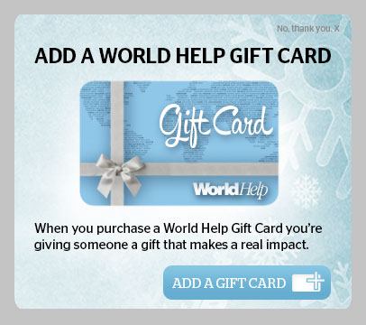 World Help Gift Card Promo