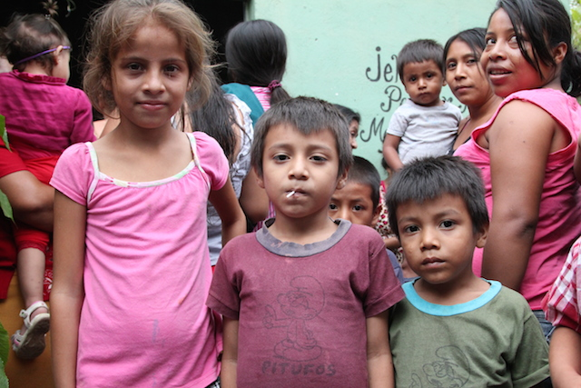 Sponsored Children in Guatemala World Help