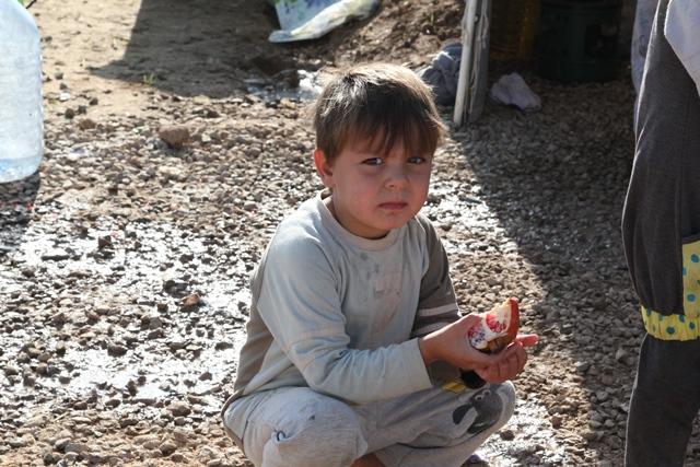 Iraqi refugee camp