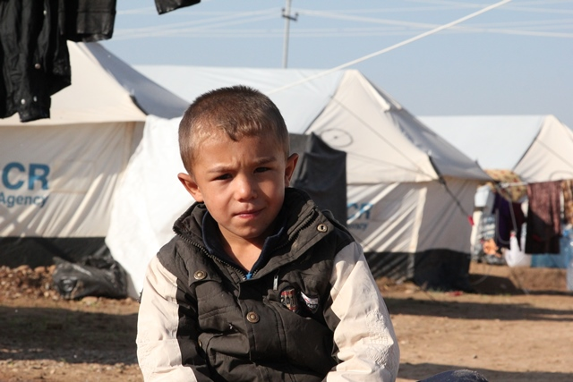Iraqi refugee boy - World Help