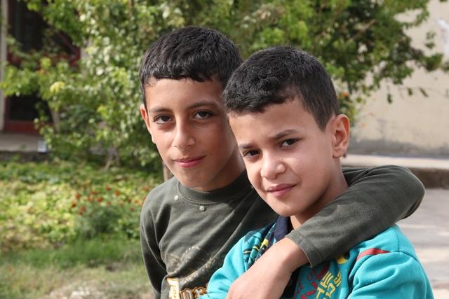 Iraqi refugee boys - World Help